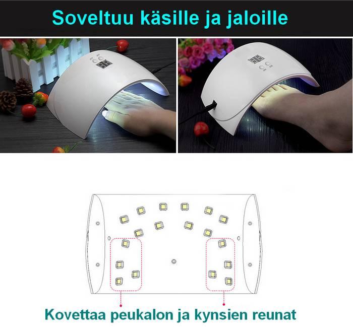 Kynsiuuni UV-LED