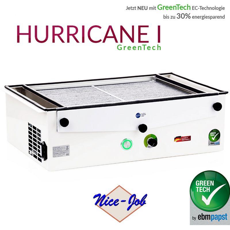 Kynsipöytäimuri Hurricane 1